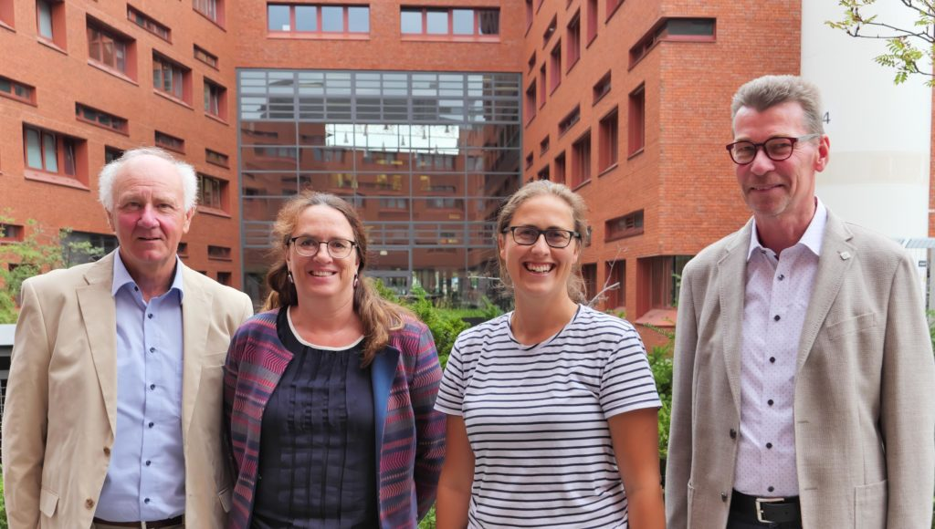 Wissenschaftlicher Begleitkreis WERTvoll (v.l.): Prof. Dr. Ralph Meißner, Prof. Dr. Cordula Kropp, Dr. Anett Richter und Prof. Dr. Eckhard Jedicke.
