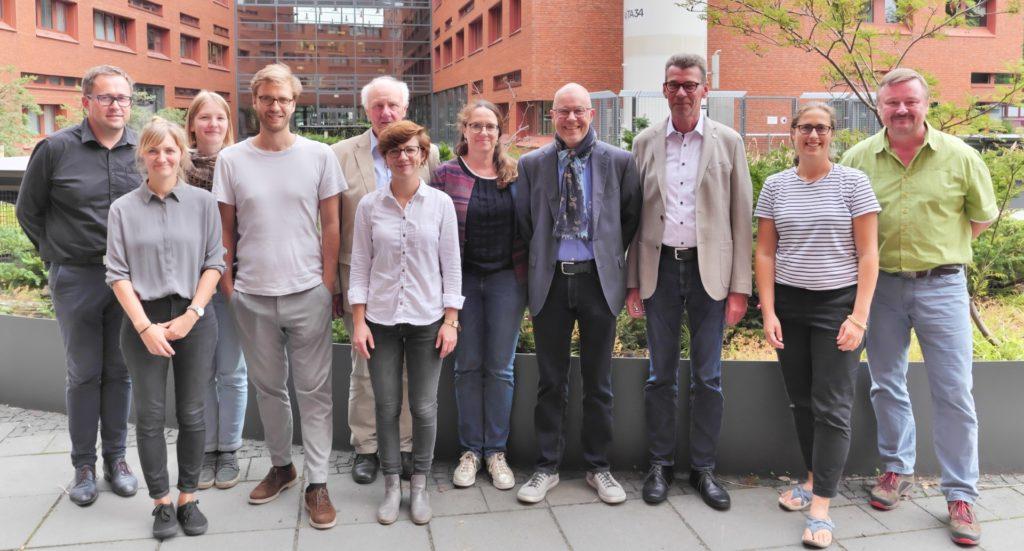 Wissenschaftlicher Begleitkreis zusammen mit Verbundpartnern aus WERTvoll.